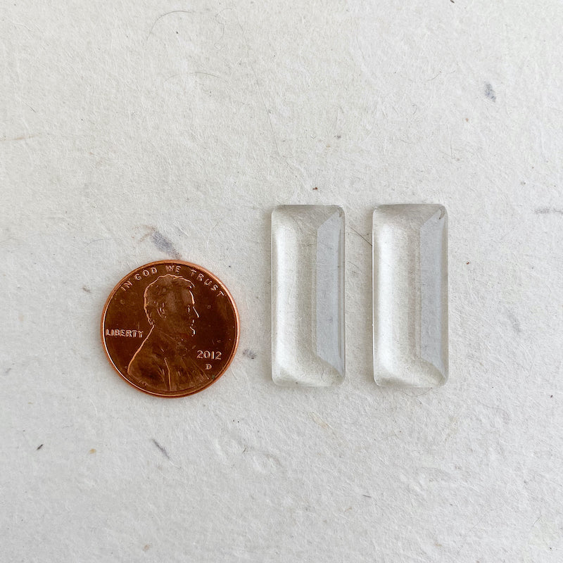 TINY GLASS RECTANGLES