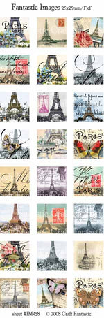 Paris Image Sheet