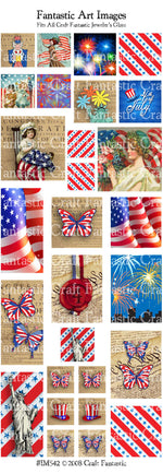 4th OF JULY all jeweler's glass sizes