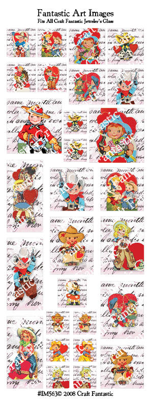 Retro Valentine BUNDLE - 3 Sheets