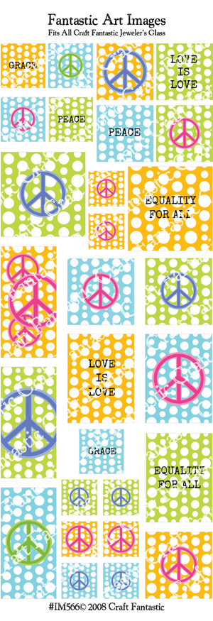 Peace BUNDLE - 5 Sheets