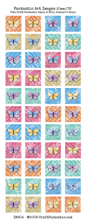 75% OFF - NEWSLETTER SPECIAL! - Butterflies Unique BUNDLE - 9 Sheets