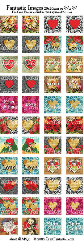 Love BUNDLE - 5 Sheets