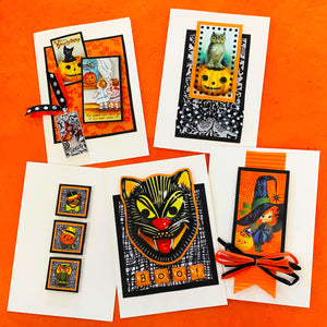 HALLOWEEN FANTASTIC ART CARD KIT