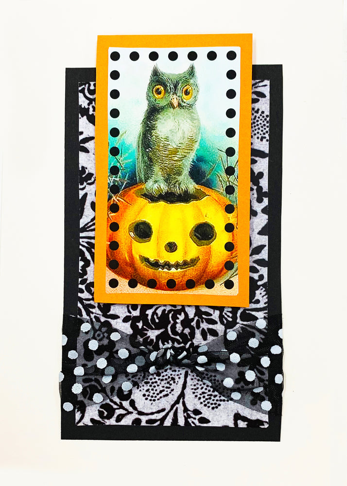 Halloween art card kit