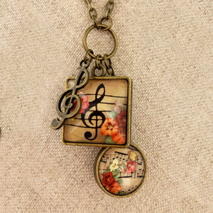 MUSICAL LAYERS NECKLACE PROJECT
