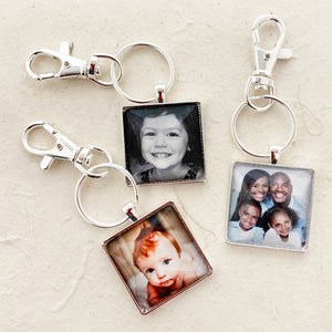 KEYRINGS W/ CLIPS