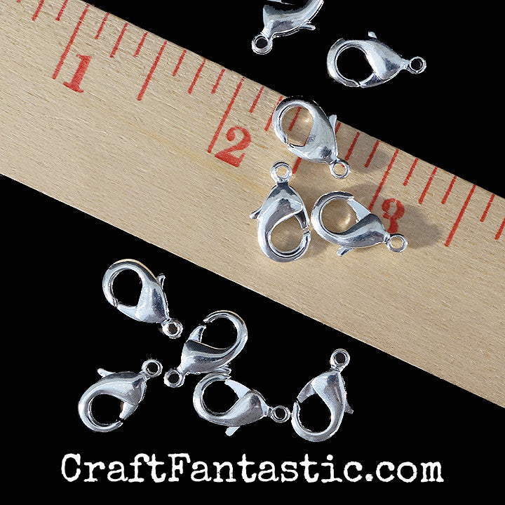 LOBSTER CLASP silver