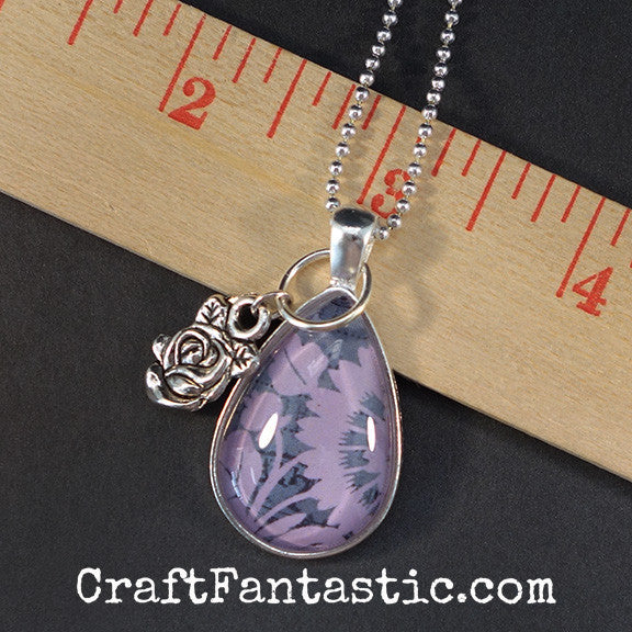 DEW DROP PENDANT KIT silver