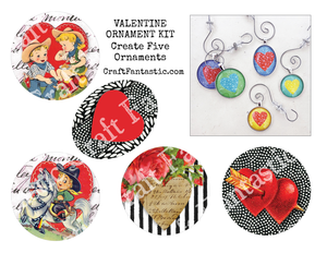 VALENTINE ORNAMENT KIT