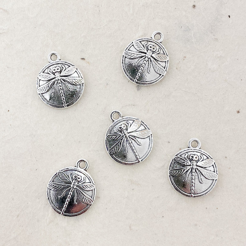 DRAGONFLY DISC CHARM