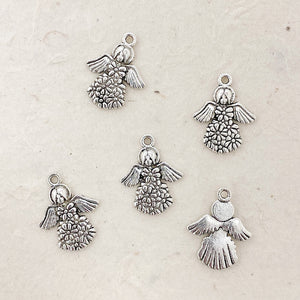 FLOWER ANGEL CHARM