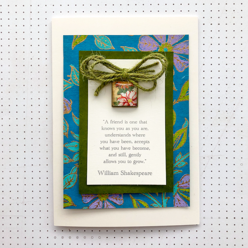 FRIENDSHIP quote card kit