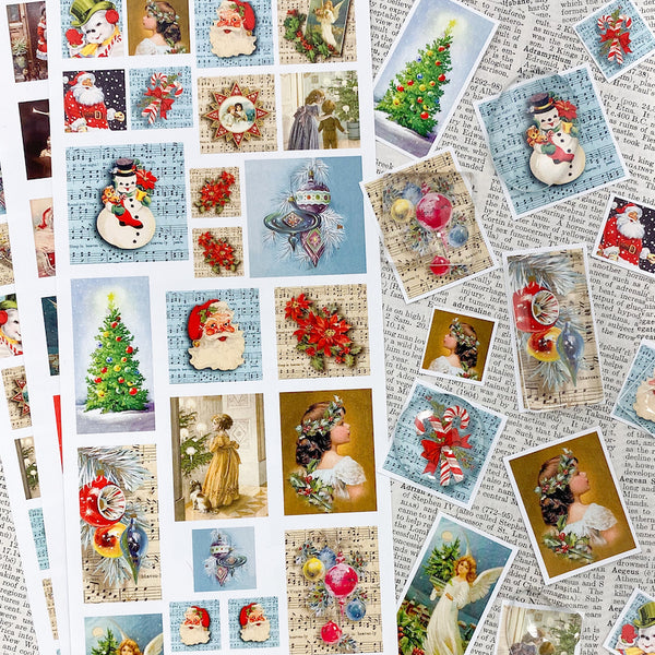 3 SHEET COMBO - Holiday Image Sheets - $4.95