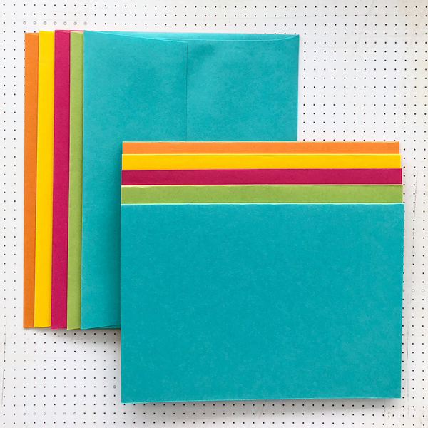 LUXE-LINE CARDS & ENVELOPES brights