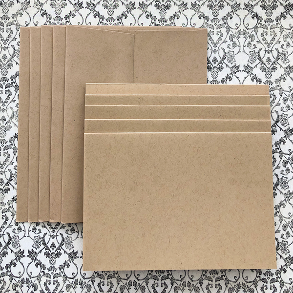 LUXE-LINE CARDS & ENVELOPES kraft