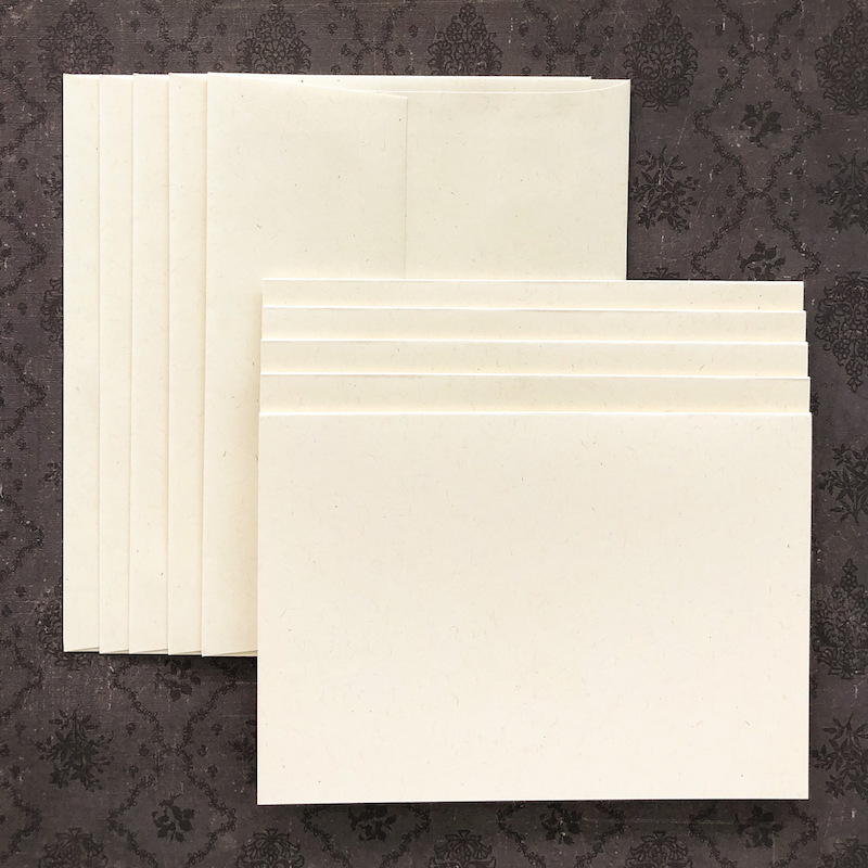 LUXE-LINE CARDS & ENVELOPES off-white kraft