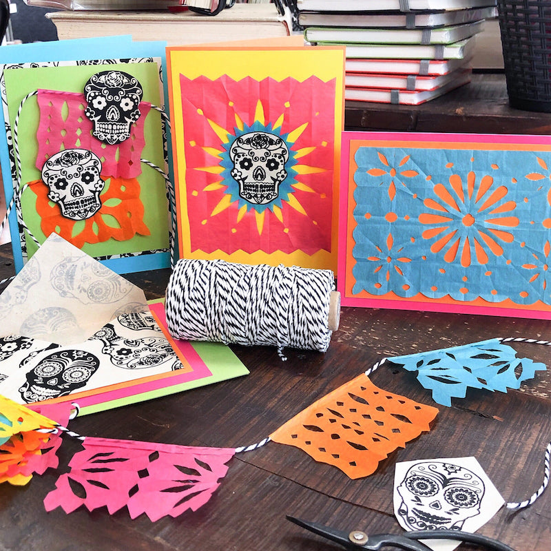 PAPEL PICADO CARDS Mar 20 - Albuquerque