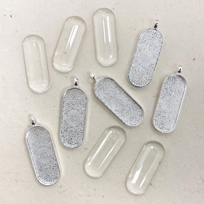 PUFFY LONG RECTANGLE PENDANT KIT