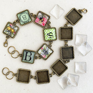 SQUARE LINK BRACELET TwistLINE KIT