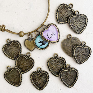 SMALL HEART TwistLINE TRAY