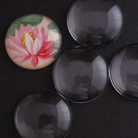 LARGE GLASS ROUNDS