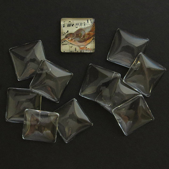SMALL GLASS SQUARES
