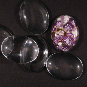 Large Glass Ovals
