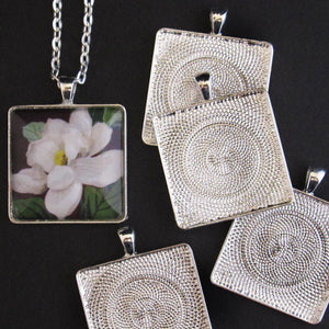 Silver Large Square Trays