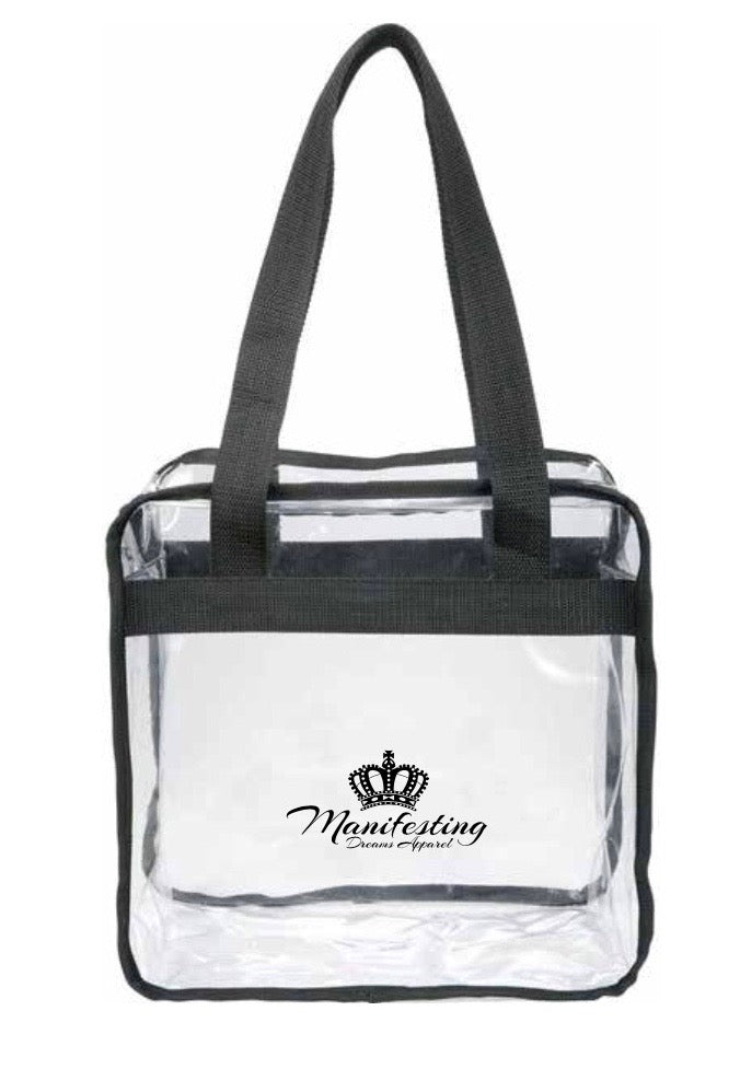 Clear Game Day Manifesting Dreams Tote