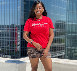 Red Manifesting Dreams T-Shirt