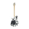 EVH Wolfgang Special Electric Guitar, Maple FB, Striped Black and White