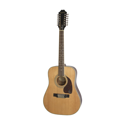 Epiphone DR-212 Acoustic Guitar, RW Neck, Natural