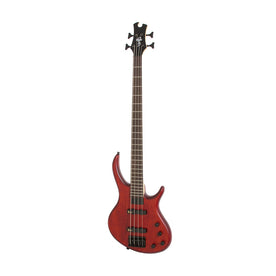 Epiphone Toby Deluxe-IV 4-String Bass Guitar, Satin Walnut