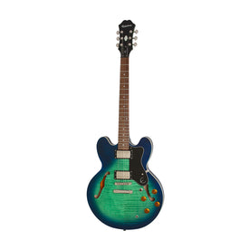 Epiphone Dot Deluxe Hollowbody Electric Guitar, Aquamarine