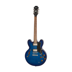 Epiphone Dot Deluxe Hollowbody Electric Guitar, Blue Burst