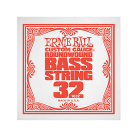 Ernie Ball .032 Nickel Wound Electric Bass Single String