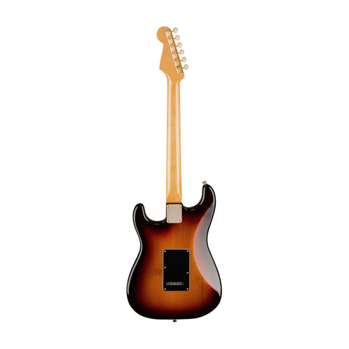 Fender Artist Stevie Ray Vaughan Stratocaster Electric Guitar w/Case, Pau Ferro FB, 3-Tone Sunburst