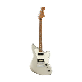 Fender Alternate Reality Powercaster Electric Guitar Pau Ferro FB, White Opal