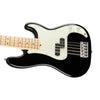 Fender American Professional 5-String Precision Bass Guitar, Maple FB, Black