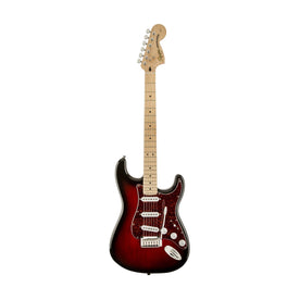 Squier Standard Stratocaster Guitar, Maple Neck, Antique Burst