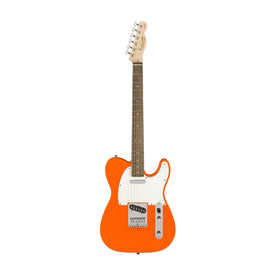Squier Affinity Telecaster Electric Guitar, Laurel FB, Competition Orange