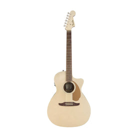 Fender California Newporter Player Medium-Sized Acoustic Guitar, Champagne