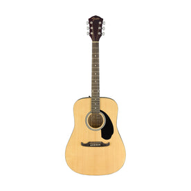 Fender FA-125 Dreadnought Acoustic Guitar w/bag, Walnut FB, Natural