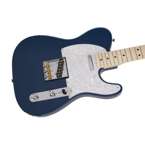 Fender Japan Hybrid Telecaster Electric Guitar, Maple FB, Indigo