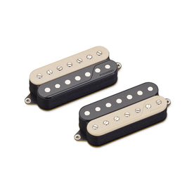 Fishman Fluence Classic Humbucker 7-String Pickup Set, Open Core Zebra