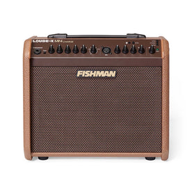 Fishman Loudbox Mini Charge 60W Battery Powered Acoustic Guitar Amplifier, UK