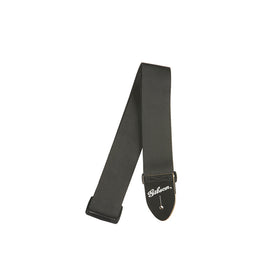 Gibson ASGSB-10 Regular Style 2Inch Safety Guitar Strap, Jet Black