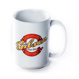 Gibson GS-LGMCA Custom Mug, 15oz