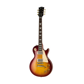 Gibson Custom Historic 1959 Les Paul Standard Electric Guitar, Vintage Cherry Sunburst Gloss
